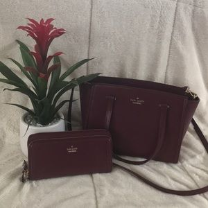 Kate Spade amazing purse + matching wallet